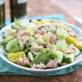 Mediterranean Chopped Tuna Salad