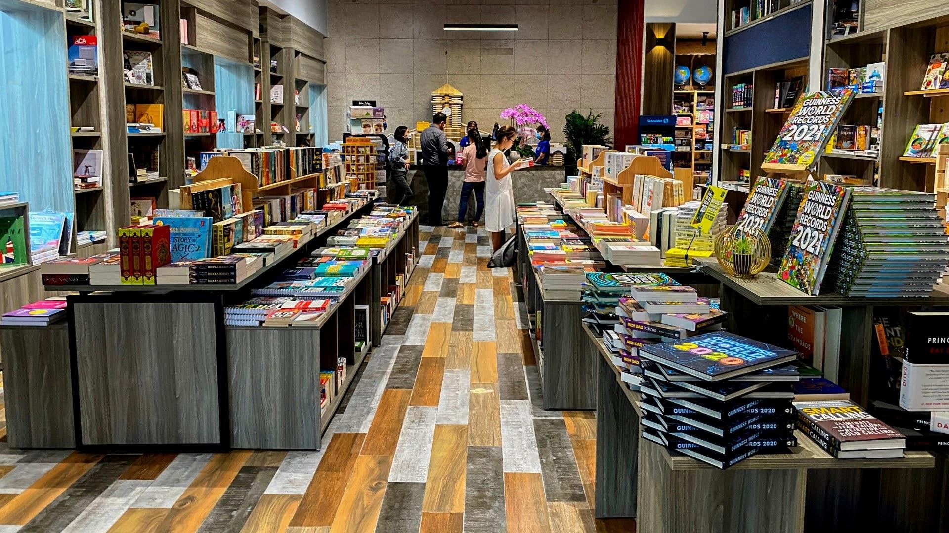 Phương Nam Book City Saigon Center - Thành phố sách đầu tiên tại trung tâm  TP.HCM