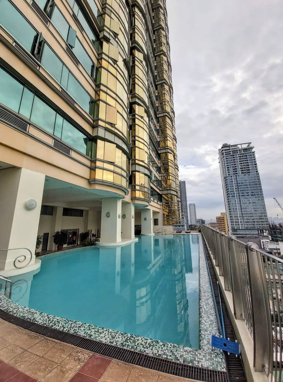 Golden Empire Tower pool