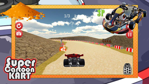 Super Cartoon Kart 3D|玩賽車遊戲App免費|玩APPs
