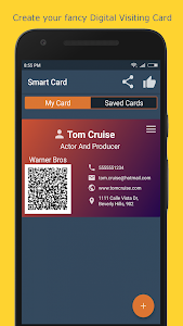 Smart Card - Digital Visiting Card with QR Code 2.1