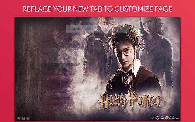 Harry Potter Wallpaper HD Custom New Tab