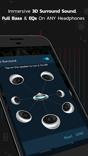 Boom: Music Player with 3D Surround Sound and EQ 1.3.2 screenshots n 2