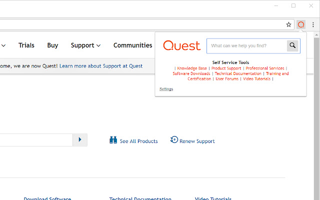 Quest - Search KB