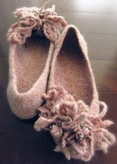 DIYのかぎ針編みの女性のスリッパのおすすめ画像4