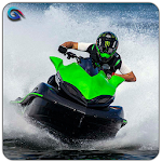 Power Speed Jet Boat 3D Icon