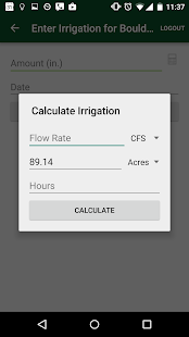 WISE Irrigation Scheduler- screenshot thumbnail