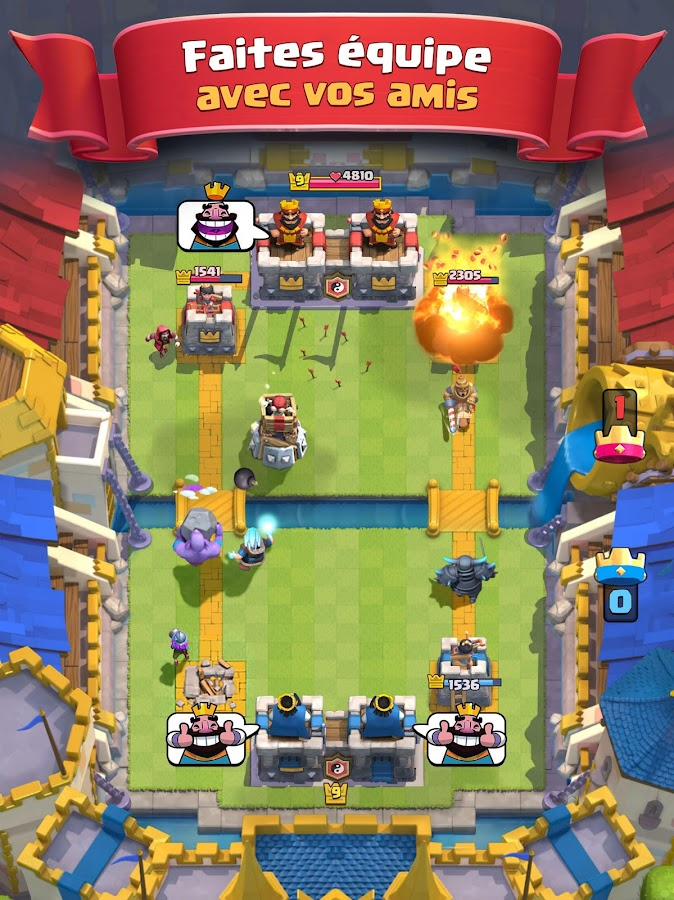 Clash Royale – Capture d'écran