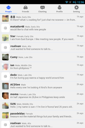 Screenshot for Friends Talk - Chat,Meet New People in Hong Kong Play Store