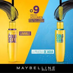 Pestañina Maybelline The Colossal Volum Express WaterProof x9.2Ml