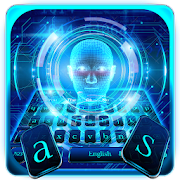App Icon for Human Face Lock Screen Keyboard Theme App in United States Play Store