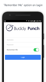Buddy Punch Time Clock- screenshot thumbnail