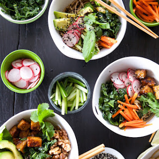 Build-Your-Own Soba Noodle Bowls.