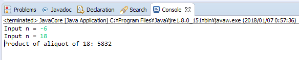 Java - Tích các ước số của số nguyên dương