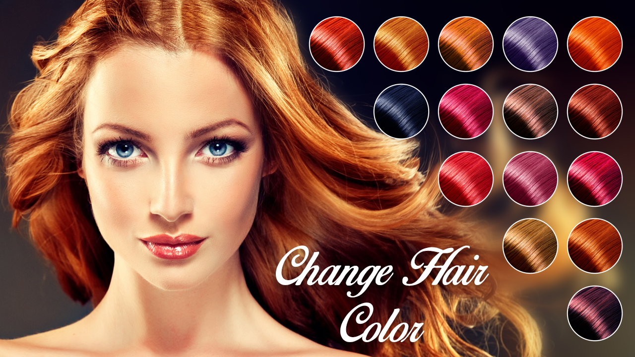 Change Hair Color  Android Apps On Google Play