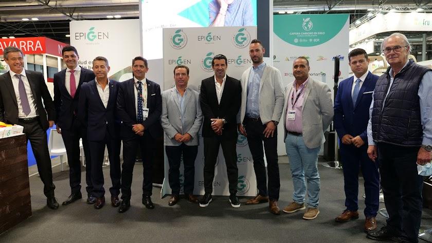 Luis Figo se convierte en el nuevo embajador de Epigen Healthy Bite.