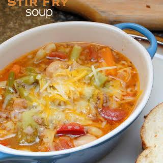 Stir Fry Soup.