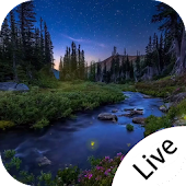 Evening nature Live Wallpaper Mod