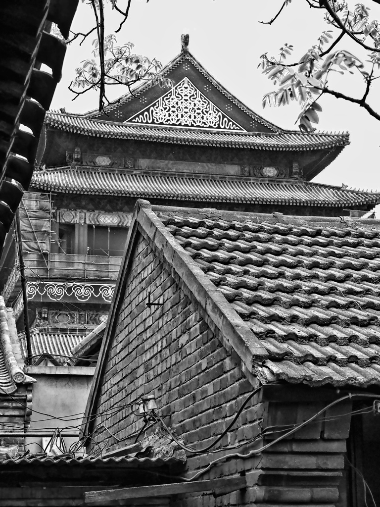 Photo: View from a hutong courtyard in Beijing