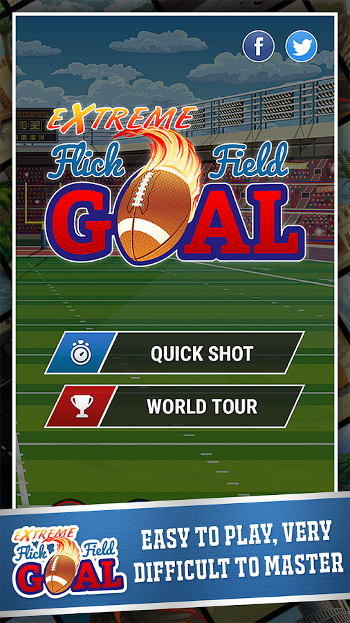 Extreme Flick Field Goal- screenshot