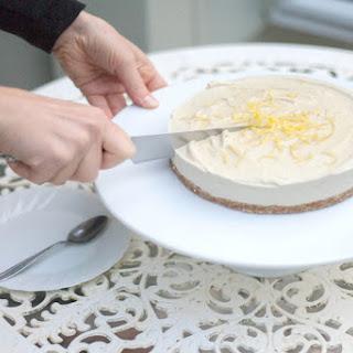 Creamy Vegan Lemon 'Cheesecake', a luscious dessert creation