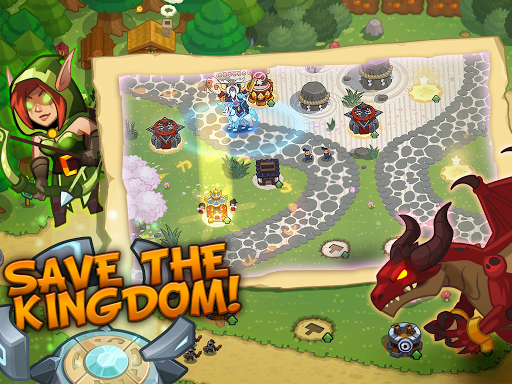 Realm Defense: Epic Tower Defense Strategy Game screenshot 9