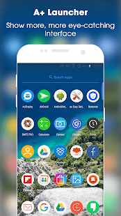 App A+ Launcher - Simple & Fast Home Launcher APK for Windows Phone