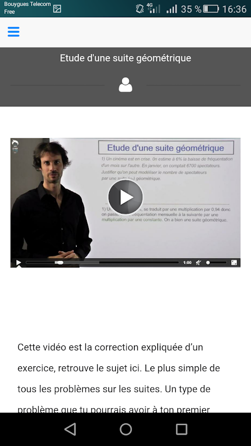 Le Prof Du Web- screenshot