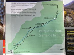 Photo: La Culata map.