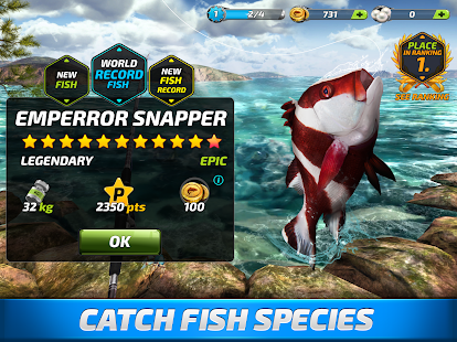 Fishing Clash: Catching Fish Game. Bass Hunting 3D Screenshot