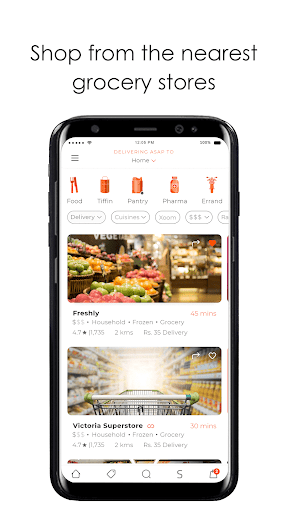 Cheetay - Online shopping and food delivery 3.9.2 screenshots 2