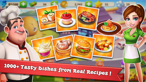 Rising Super Chef - Craze Restaurant Cooking Games - screenshot