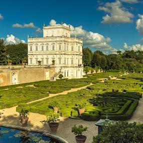 by David Marjanovic - City,  Street & Park  City Parks ( rome, historic, italz, clouds, sunny, park, colors )