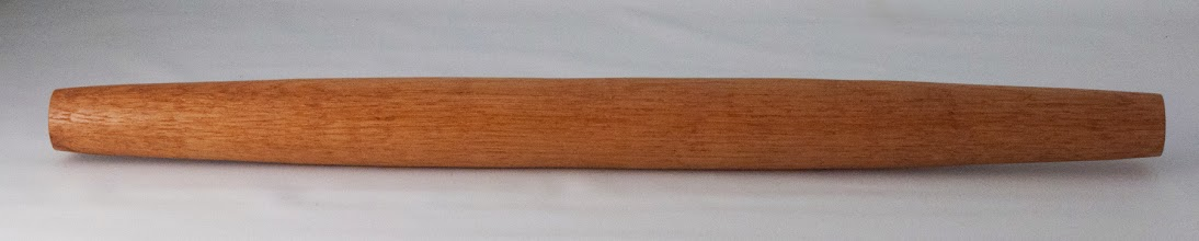 "Photo: Matt Radke 1 3/4"" x 20"" French style rolling pin [oak]"