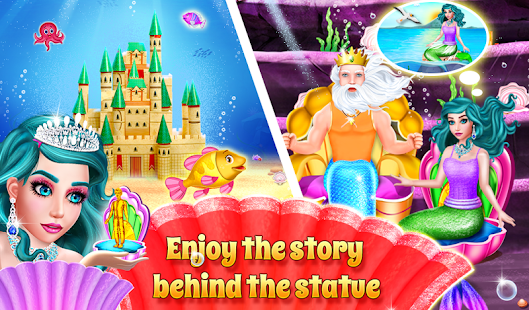 Mermaid & Prince Rescue Love Story 14