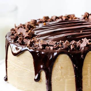 Salted Caramel Milk Chocolate Cake.