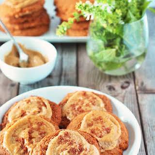 Pumpkin Cookies with Maple Frosting (Vegan).