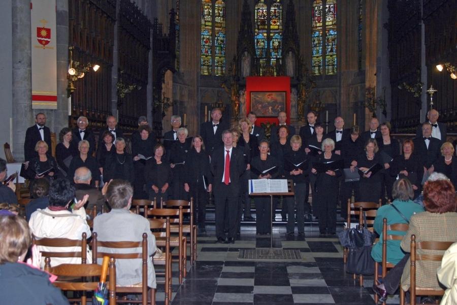 Photo: A-Cappella Konzert Cathédrale Saint-Paul, Liège/Lüttich/BEL / 07.06.2009