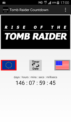 Rise of the Raider Countdown