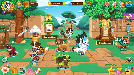 Dungeon Dogs - Idle RPG  screenshots 6
