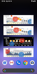 Meteogram Weather Widget – Donate version 1