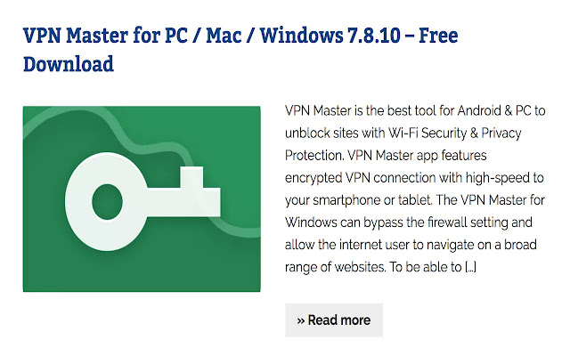 Vpn Proxy Vpn Master For Pc