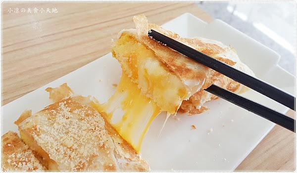 台中北屯║希摩爺爺蔬食早午餐,創意炒麵、酥皮蛋餅、中西合併餐點任你挑~