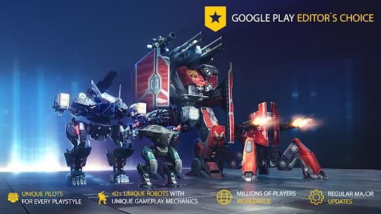 War Robots Mod Apk (Inactive Bots) 7