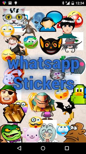 貼紙的WhatsApp