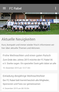 FC Rabel 06 e.V.- screenshot thumbnail