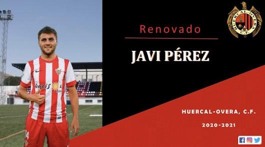 Javi Pérez seguirá una temporada más en el Huércal-Overa.