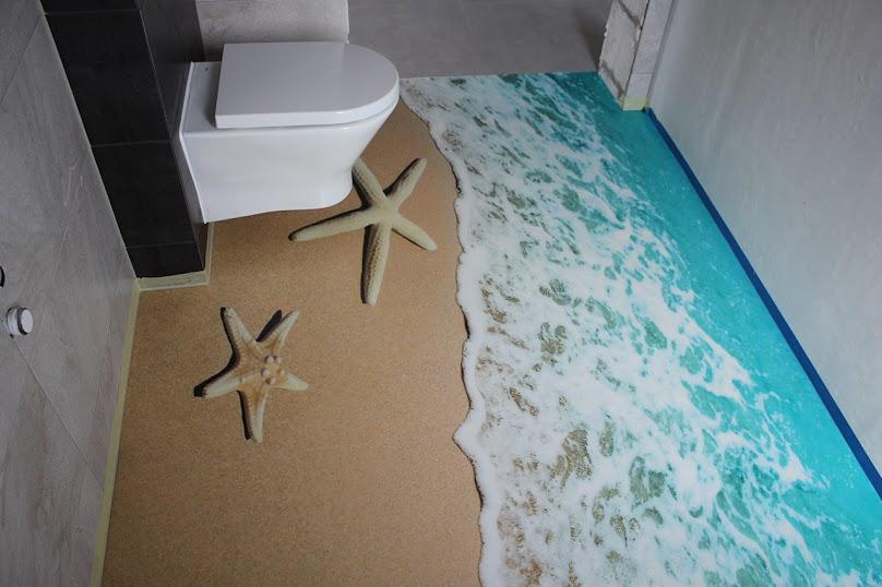 Podłoga w stylu morskim! Rozwiązanie 3D