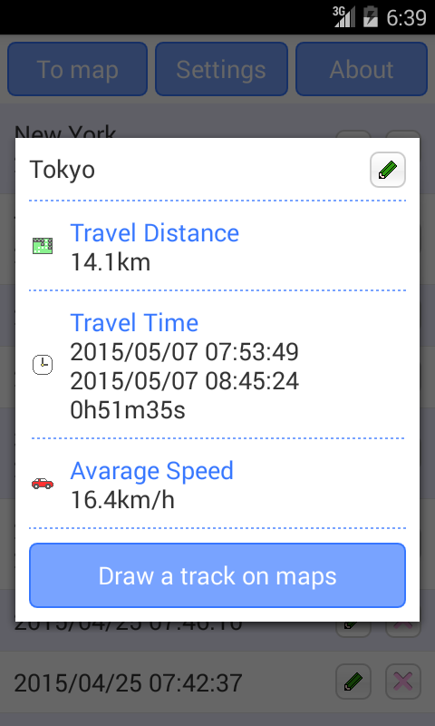 GPS Tracker- screenshot
