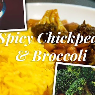 Spicy Chickpeas and Broccoli